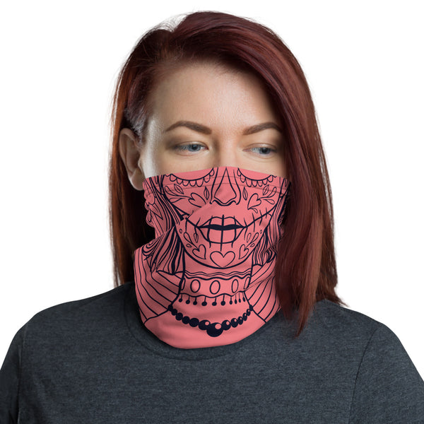 Calavera Lady Multifunctional Face Mask Headwear Neck Gaiter All Elements Protection - butiksonline