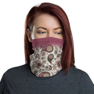 Paisley Multifunctional Face Mask Headwear Neck Gaiter All Elements Protection - butiksonline