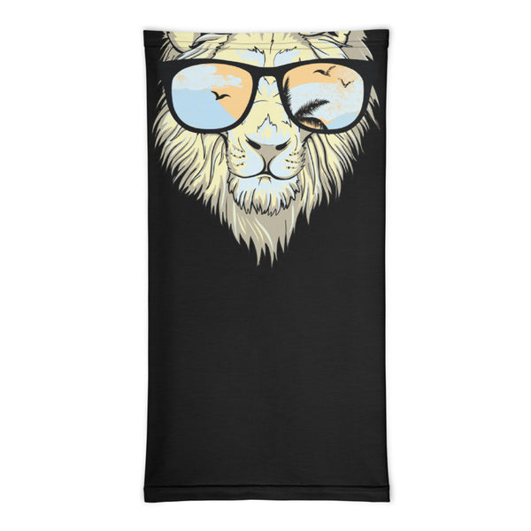 Stylish Lion Design Multifunctional Face Mask Headwear Neck Gaiter All Elements Protection - butiksonline