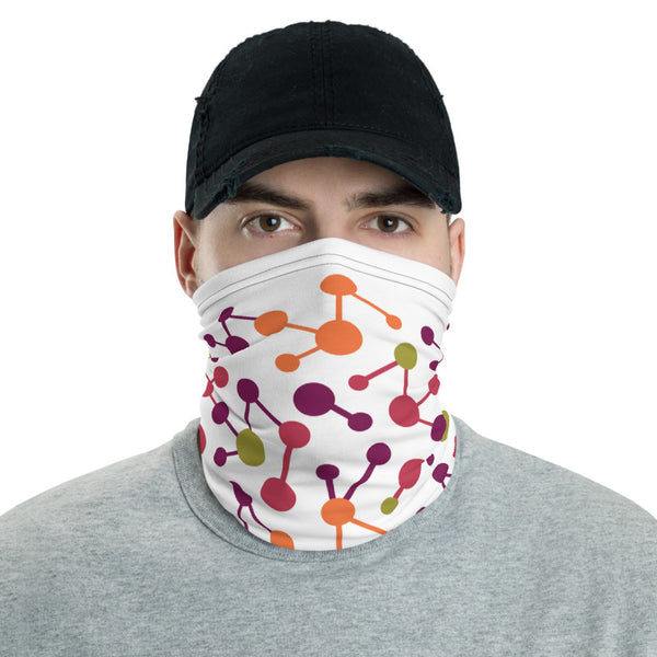 Cool Geometric Pattern Multifunctional Face Mask Headwear Neck Gaiter All Elements Protection - butiksonline