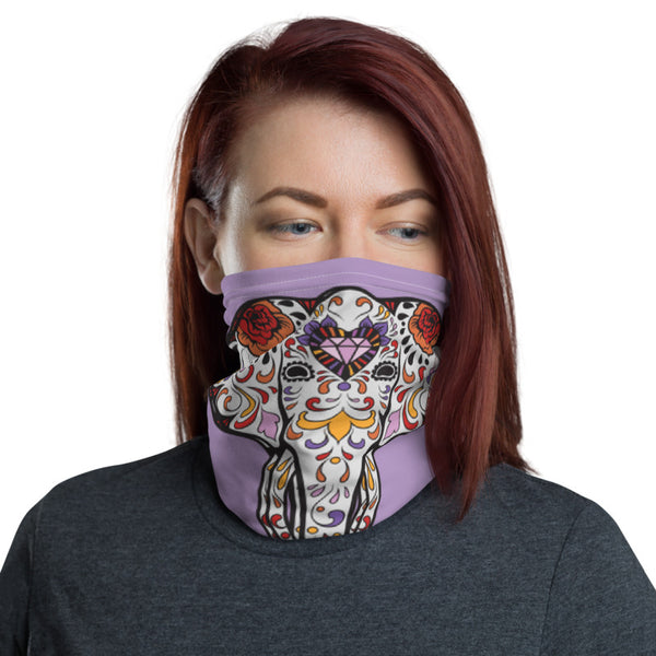 Colorful Elephant Multifunctional Face Mask Headwear Neck Gaiter All Elements Protection - butiksonline