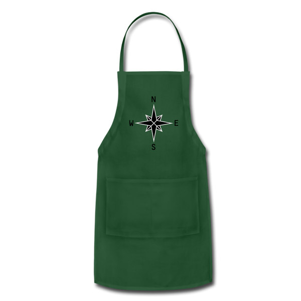 Adjustable Apron - forest green