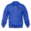 Gildan Heavy Blend Adult Zip Hoodie - royal blue