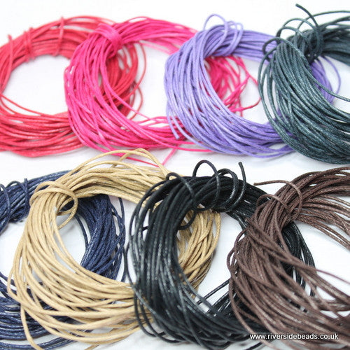 Waxed Cotton Cord Bundle Deal – 40 Meters