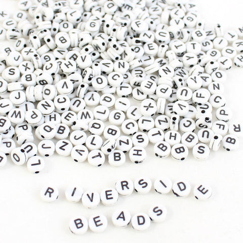 Alphabet Beads – Monochrome