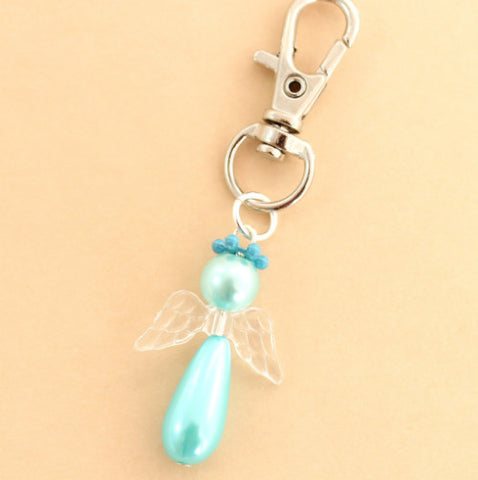"""Vicki"" Pearl Angel Kit – Makes 20 charms"