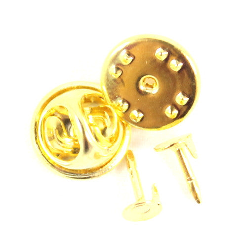 Badge Pin 11mm - Silver & Gold