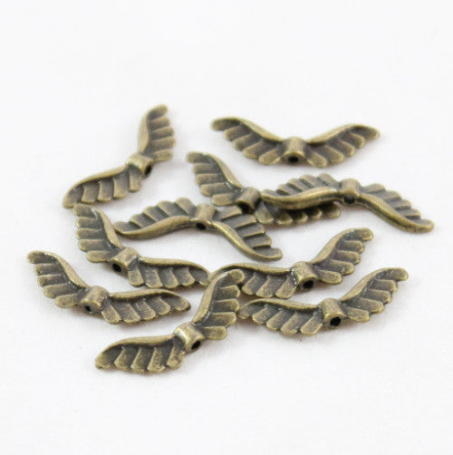Angel Feather Wing - Brass