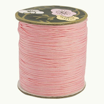 Macrame Cord - Baby Pink