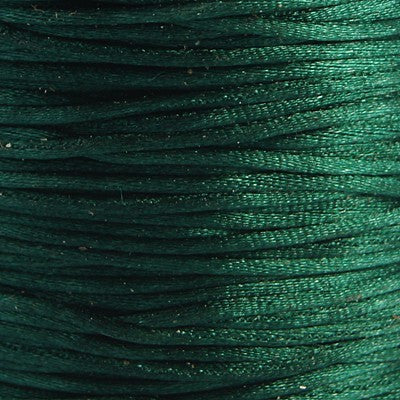 Satin Cord - Dark Green