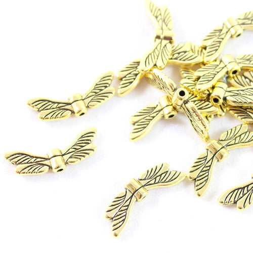 Dragonfly Wing Charms – Gold