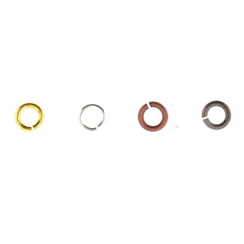Round Jump Ring - Gold Plated