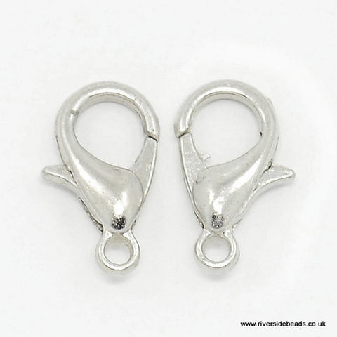 Lobster Clasp – Silver Plated