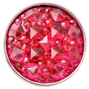Popper Charm Resin - Hot Pink