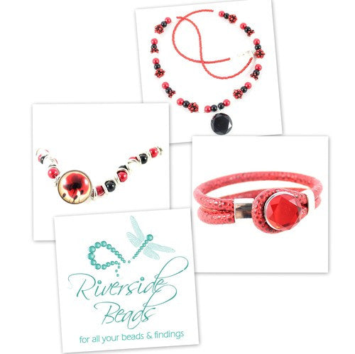 Popper Weave & Sparkle Spacer Kit - Poppies