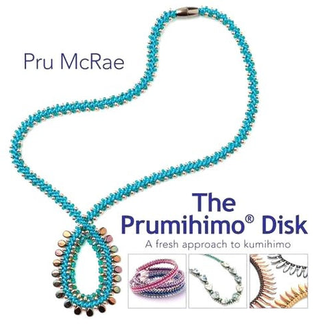 Book - The Prumihimo Disk by Pru McRae