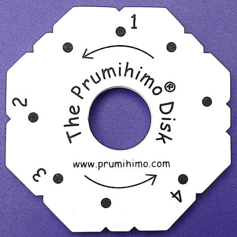 Prumihimo Disk With Instructions