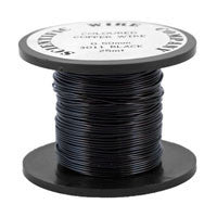 Copper Craft Wire - Black