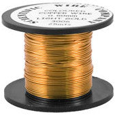 Copper Craft Wire - Light Gold