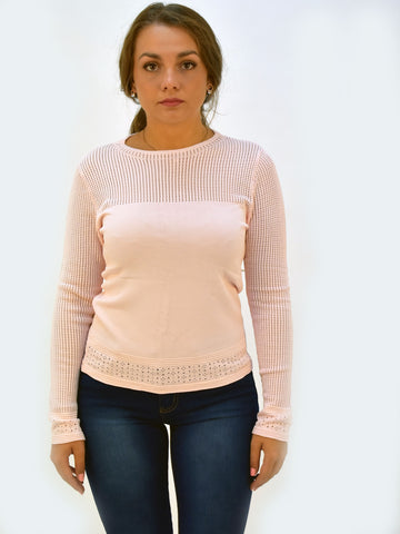 Pink Lightweight Jumper - Capsuleight