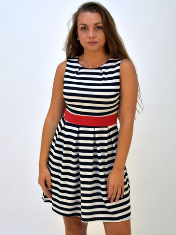 Stripe Blue Dress