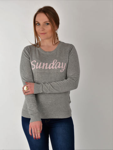 Grey Sunday Jumper - Capsuleight