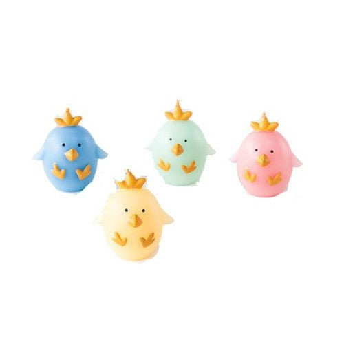 Set of 4 Chicks Candles