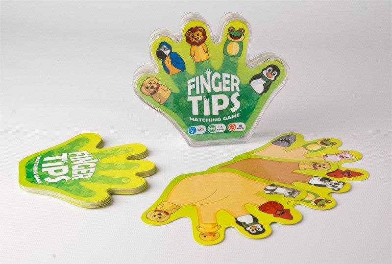 Finger Tips Matching Game
