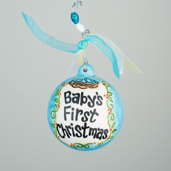 Baby's First Christmas Ball Ornament