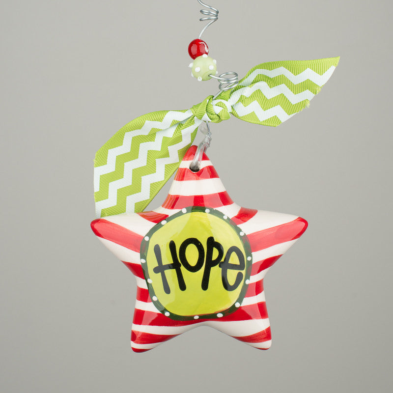 Hope Puff Star Ornament