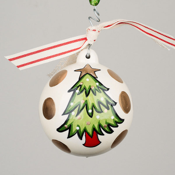 Christmas Tree Ball Ornament