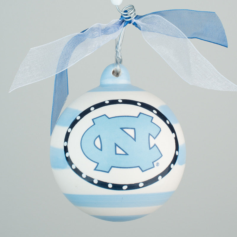 University of North Carolina Ball Ornament