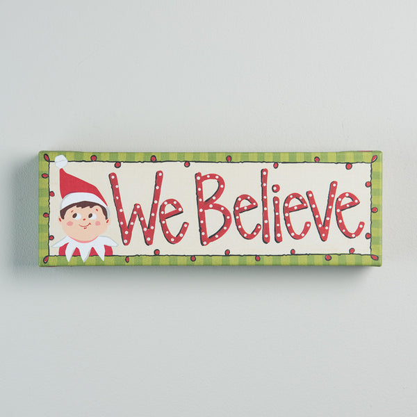 Elf on the Shelf Canvas