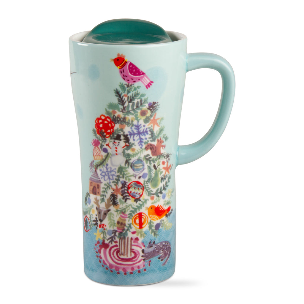Holiday Tree Travel Mug