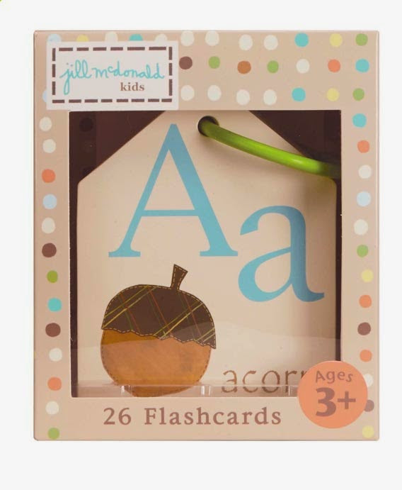 Nature Alphabet Flash Cards