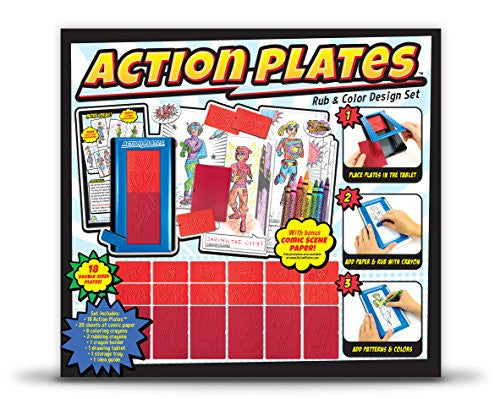Action Plates Drawing Set