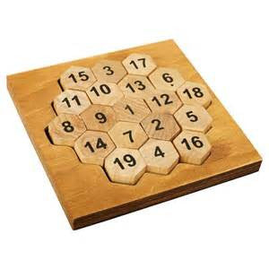 Aristotle's Classic Wooden Number Puzzle