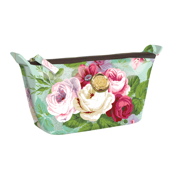 Amelie Floral Small Cosemtic Bag