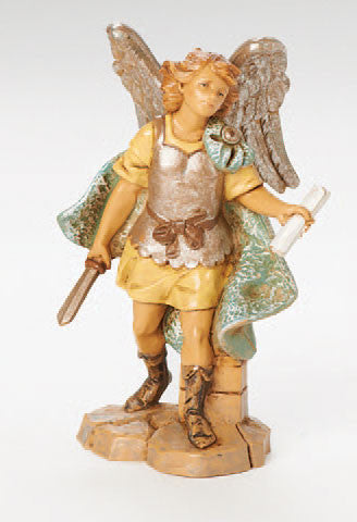 "5"" Gabriel Archangel Nativity Figure"