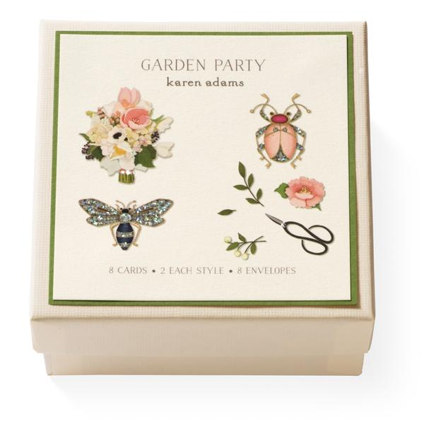 Garden Party Gift Enclosure Box
