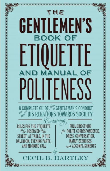 Gentlemen's Book of Etiquette