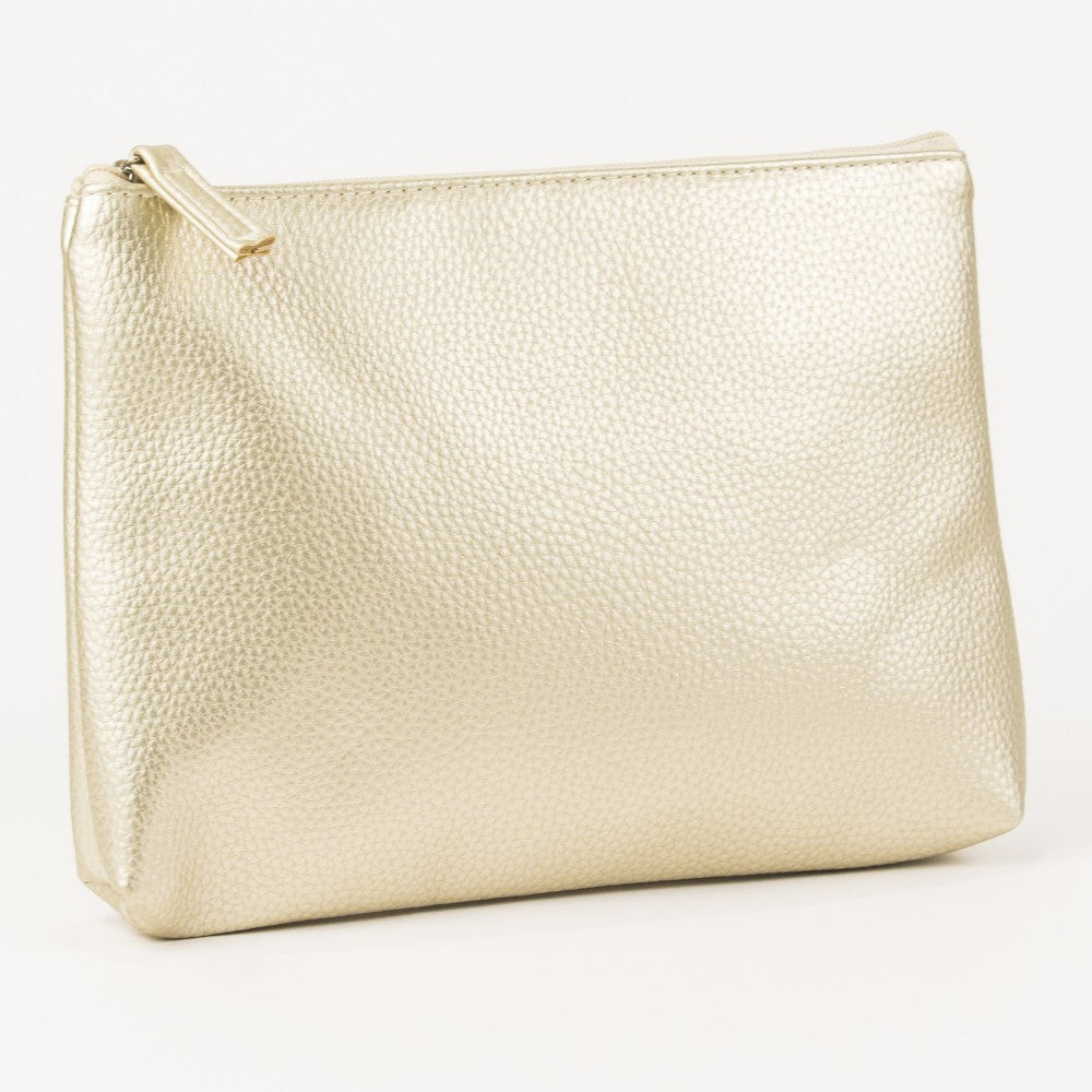Gold Emery Cosemtic Bag