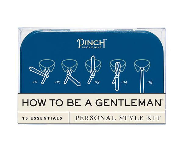 How To Be A Gentleman Personal Style Kit