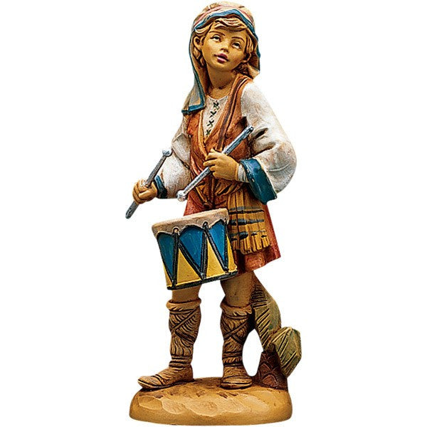 "5"" Jareth the Drummer Boy Nativity Figure"