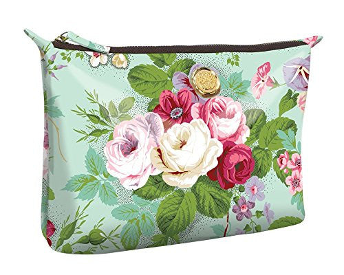 Amelie Floral Large Cosemtic Bag