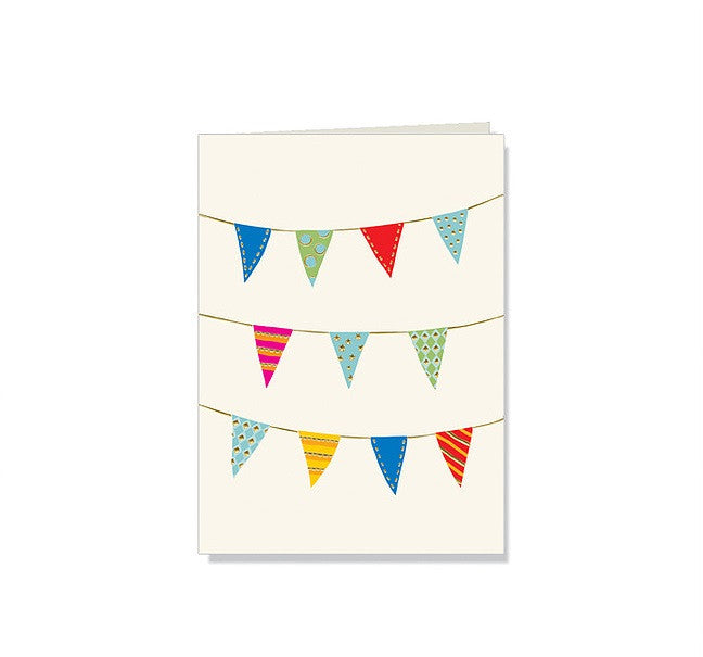 Party Banner Note Cards