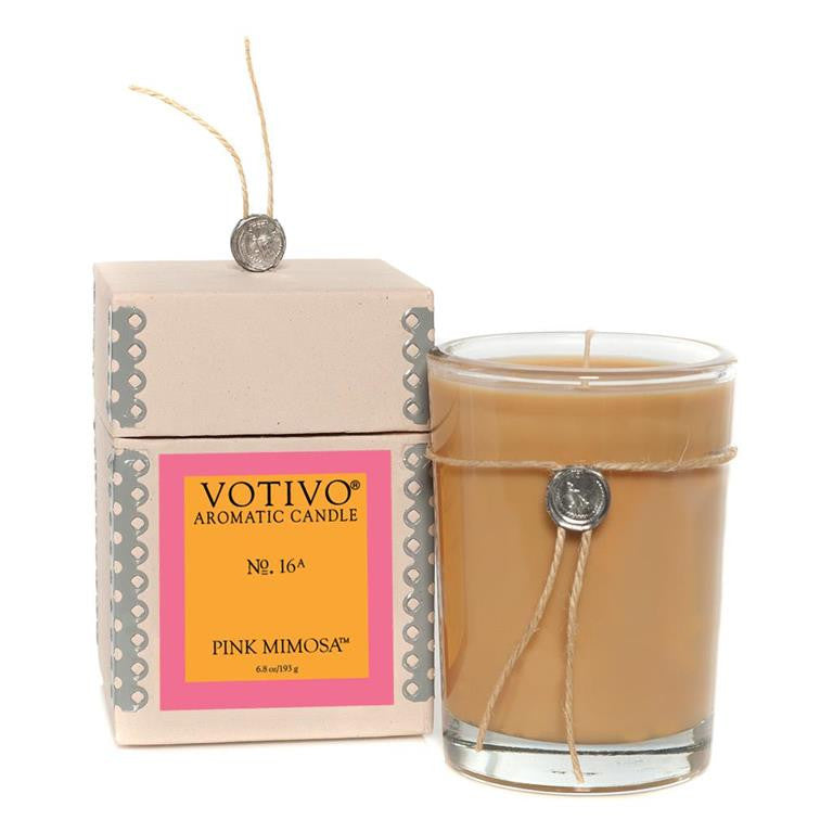 Aromatic Candle Pink Mimosa