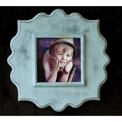 Rain Large Scallop Frame