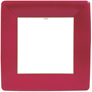 Square Paper Dinner Plates - Package of 8