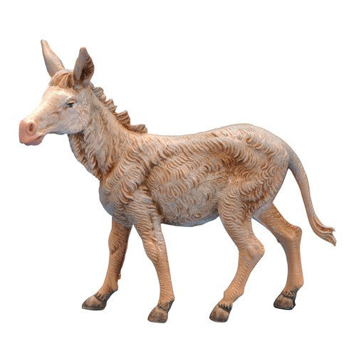 "5"" Standing Donkey Nativity Figure"